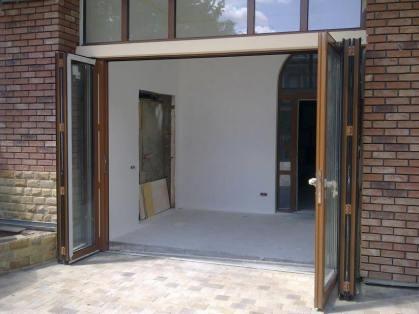 открытые двери гармошка F2000