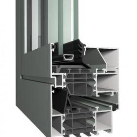 окна из теплого алюминия цена