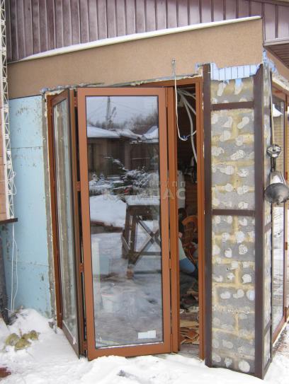 Двери - гармошки купить в Киеве
