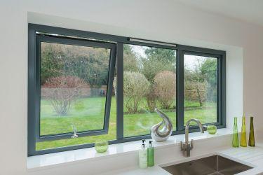 алюминиевые окна ponzio