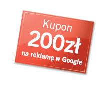 Kupon GOOGLE AdWords