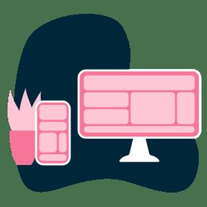 Webbdesign för era texter och bilder