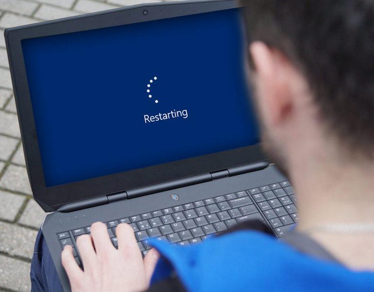 выпал синий экран смерти и перезагрузка ➰: