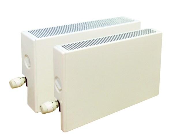 """1 4 - Конвектор """"Универсал Авто В"""", с терморегулятором, установленным на входе, двухтрубная система"""