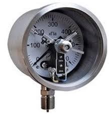 24 - Электроконтактные манометры взрывозащищённые для малых давлений РВExdI Х, 1ExdIIBT4 Х
