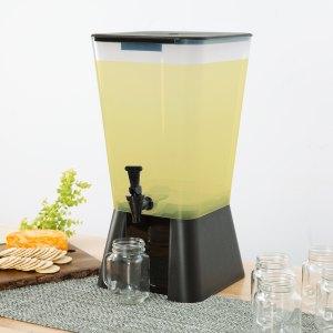 5 Gallon Black Beverage / Juice Dispenser
