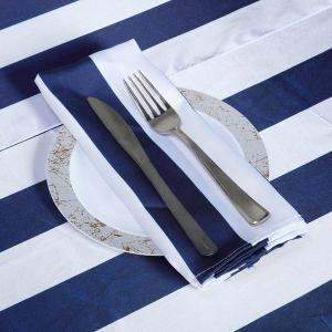 Stripe Satin Napkins
