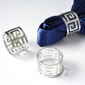 Aluminium Alluring Napkin Rings