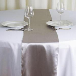 12″x108″ Satin Table Runner