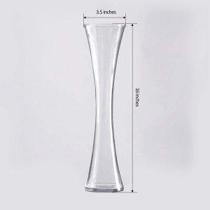 16″ Heavy Duty Hour Glass Vase