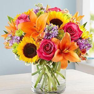 Multicolor Bright Sympathy Arrangement