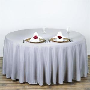 108″ Polyester Round Tablecloth