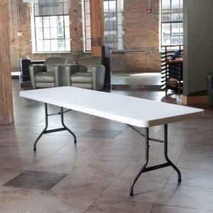 8ft White Folding Table