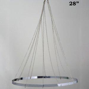 12 Panel 28″ Hoop Ceiling Draping Hardware Kit