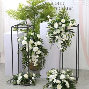2 Pack | 40″ Matte Black Wedding Flower Stand