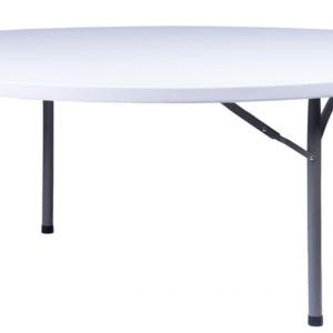 72′ Round White Table