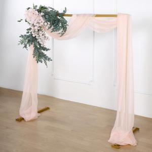 18Ft   Sheer Organza Curtain Panel
