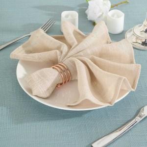 Textured Wrinkle Resistant Napkins