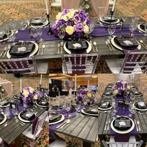 """New """"Ebony"""" 8ft Custom Farmhouse Table"""