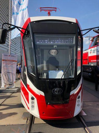 Wagon wykonany z kompozytu szklanegWagon wykonany z kompozytu szklanego