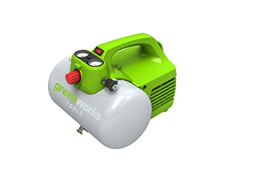 Greenworks Kompressor 6L, 8bar, 300W - 4101302