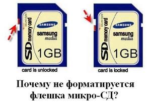Não é possível formatar a unidade flash USB
