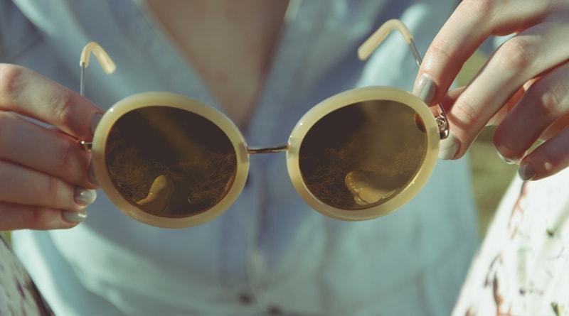 rande starožitné brýle