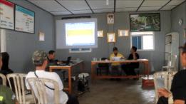 Evaluasi Program Pilot Desa Wisata Way Kalam Bulan ke- 8 Januari 2016.