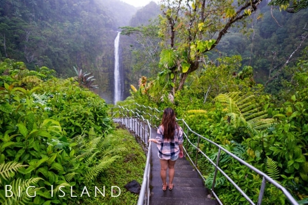Top Tourist Attractions Big Island Hawaii
