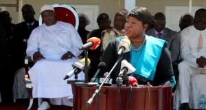 Mme Fatou Bensouda en fidèle serviteur d'un régime dictatorial. Source: justiceinfo.net