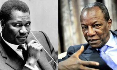 Sekou Touré et Alpha Condé