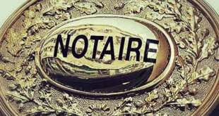 Dès le 1er avril 1959, Sékou Touré interdit les métiers d'd'avocat, de notaire et de huissier