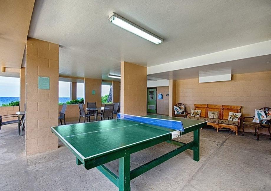 Ping Pong and Cabana