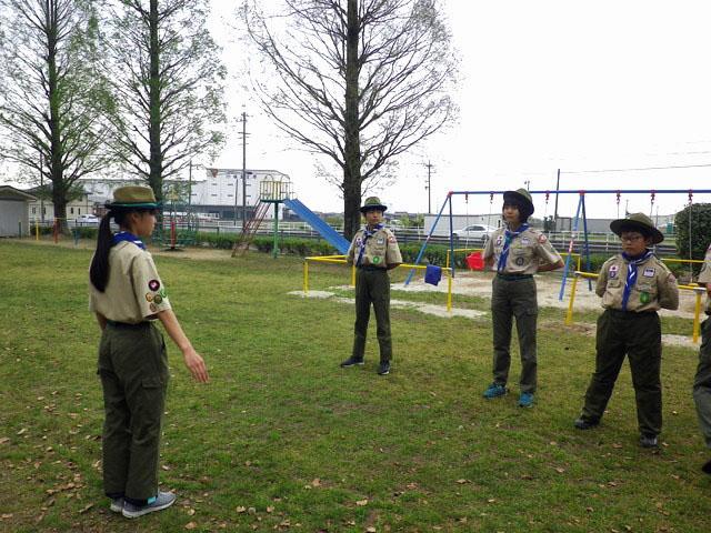 ボーイ隊歓迎キャンプ