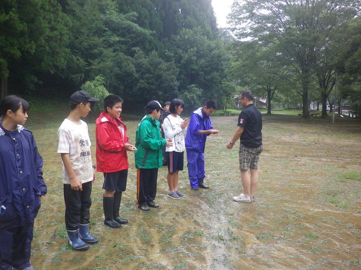 BS隊夏季キャンプ