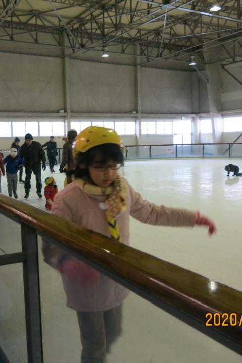初詣とスケート