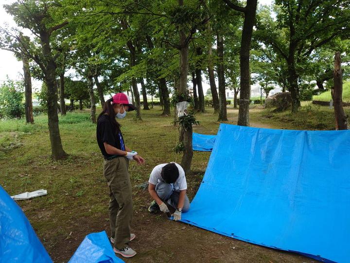 サバイバルキャンプ