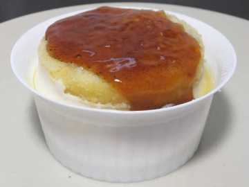 コンビニスイーツだ_北海道産チーズのブリュレチーズケーキ【ファミリーマート】中身01