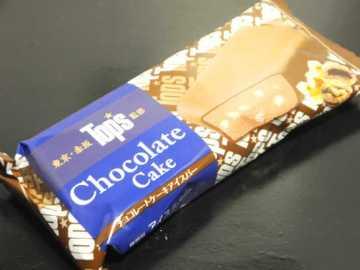 コンビニスイーツだ_トップス チョコレートケーキアイスバー【セブンイレブン】外観00