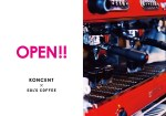 3/1- KONCENT蔵前本店×SOL' S COFFEE OPEN!!