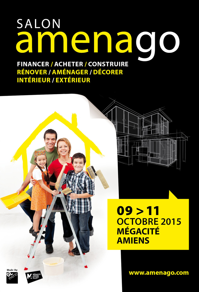 Invitation salon Amenago Amiens