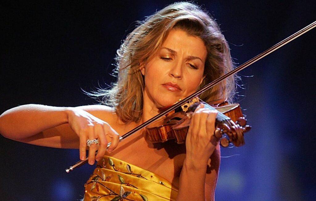 Med koncertrejsen til koncert med Anna-Sophie Mutter i Amsterdam