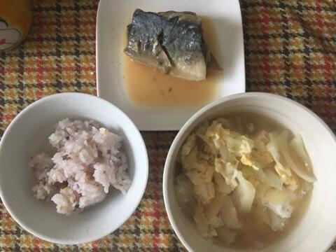 さば味噌煮と五穀米ごはん、具だくさんみそ汁|婚活女性から実際に送られてきたダイエットメニュー公開