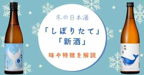 「しぼりたて」とか「新酒」ってどんな日本酒?特徴や味わいについて酒屋が熱弁します。