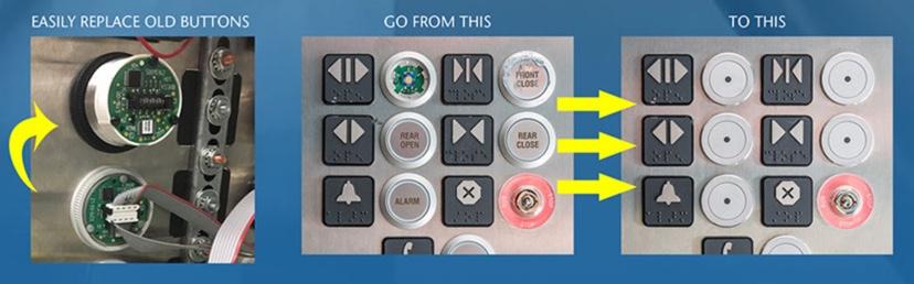 Vandal Resistant Elevator Button KIT – KONE Spares USA