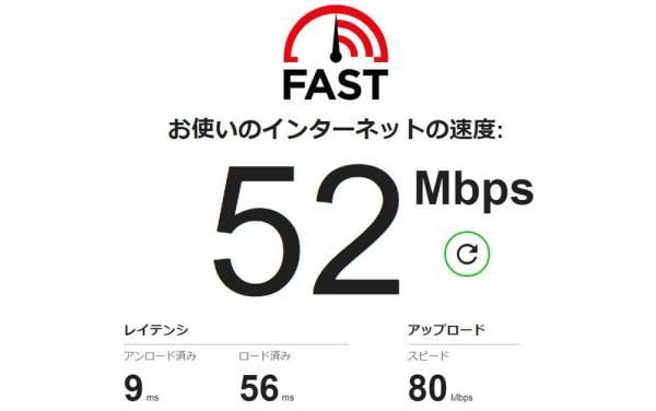 速度 インターネット 回線