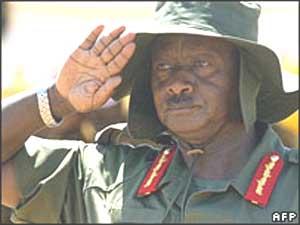 Museveni le rebelle des années 1970 devient le président de l'Ouganda en 1986