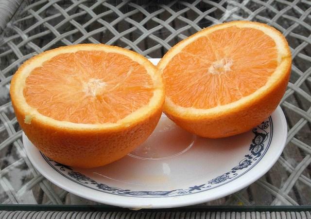 Dwie połówki pomarańczy Image