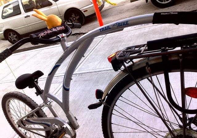 Z dzieckiem na rowerze — razem czy osobno? Image