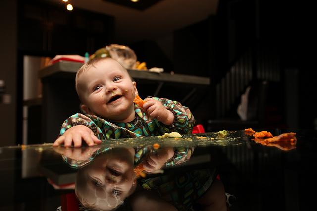 Jak karmić dziecko tanecznym krokiem Image